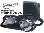 Arctic Accelero Hybrid 7970 Cooler Review