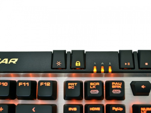 cougar deathfire keyboard how to turn off lights