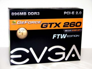 OverclockersClub EVGA GTX 260 FTW Edition Review geforce 260gtx