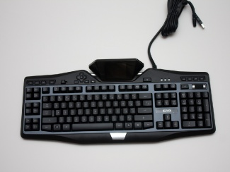 how to change color on logitech g110 keyboard