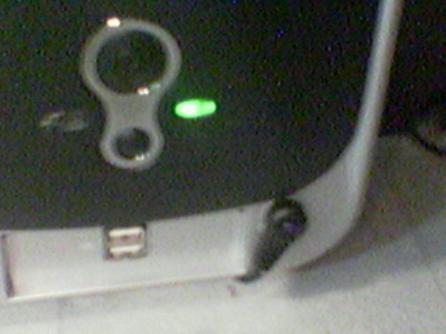 Here the bottom of my case, my usb2.0 and my Remote sensor for the TV Tuner