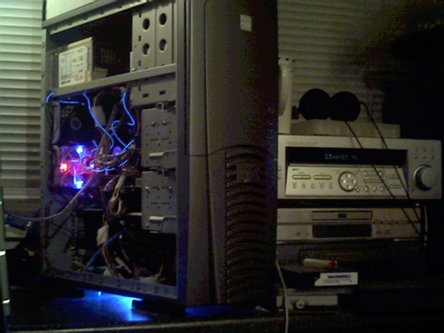 Light On Under The Pc