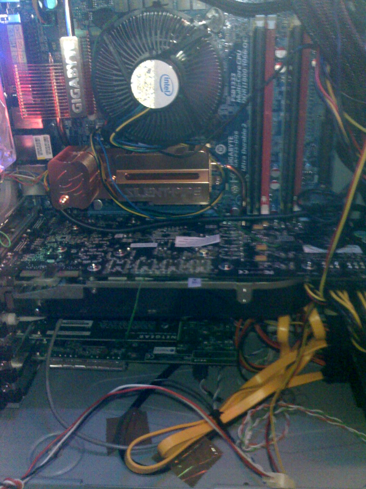the XFX 8800GTX and cpu