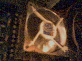 this is my customized CPU fan and heat sync, but alas the heat sync is not visible fromsuch an angle