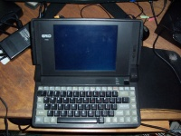 First laptop in space