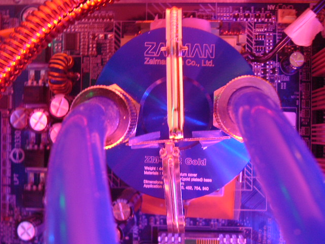 Zalman Water Block WB2 Gold