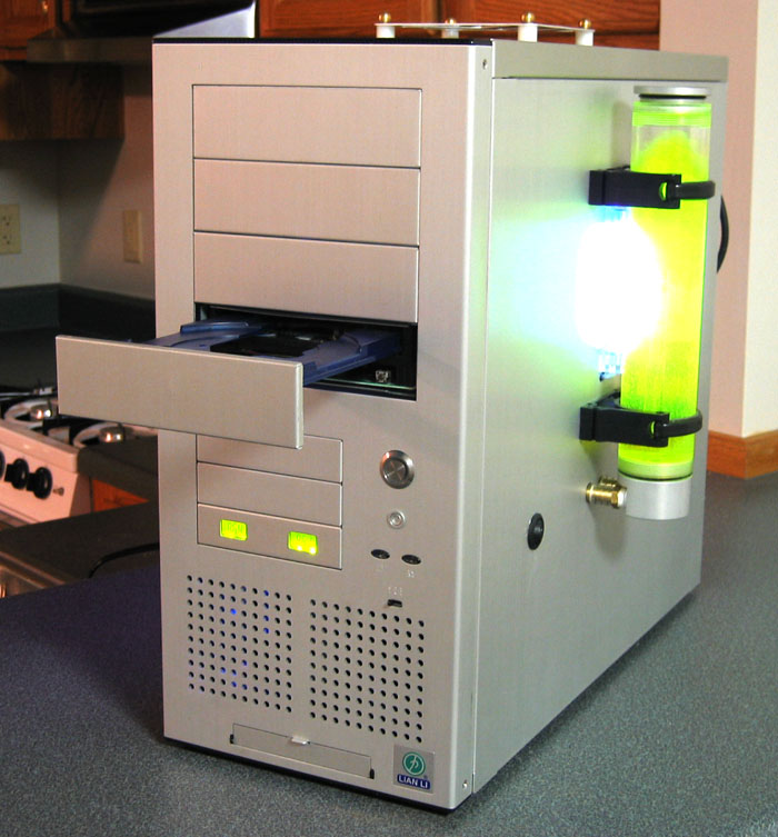 Stealthed CD Drive