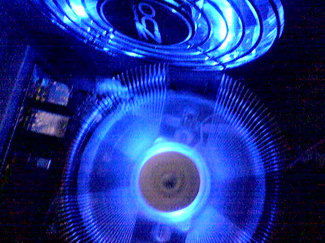 My new OCZ MODSTREAM...mmmm blue..