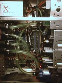 The watercoolin and wiring job