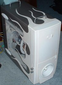 My new gaming rig.