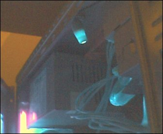 Thats the Car LED I was talking about... I stripped it, sanded it down and painted Blue UV on it.. I think ima change it to Green UV..