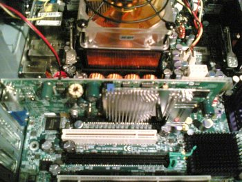 ATI x300.... Dual full speed PCI x16 slots