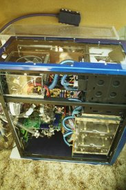 Clear custom PSU cover,windowe