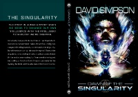 Dawn of the Singularity (eBook) Available for Pre-Order