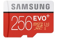 EVO Plus 256GB microSD Card Announced by Samsung