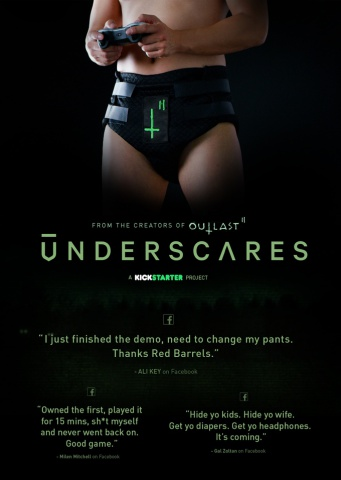 Makers of Outlast Kickstarting Outlast 2 Companion Diaper - Underscares