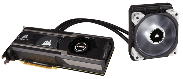 Hydro GFX GTX 1080 Ti Launched by Corsair