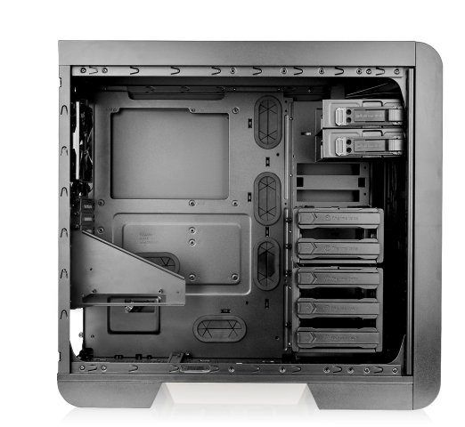 Thermaltake Adds Three Cases With Tempered Glass Window