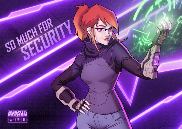 Agents of Mayhem Adds Kinzie Kensington to Roster with Agent Safeword DLC