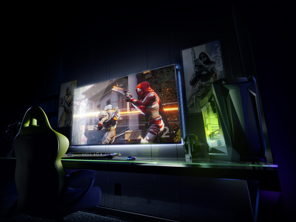 NVIDIA Rolls Out Big Format Gaming Displays, GeForce NOW, and More at CES 2018