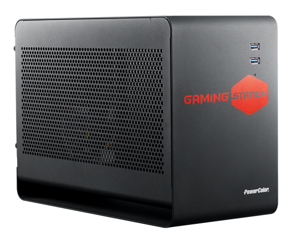 PowerColor Reveals Gaming Station External Graphics Card Chassis