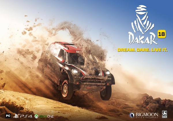 DAKAR 18 Cross-Country Rally Racing Game Coming This Year