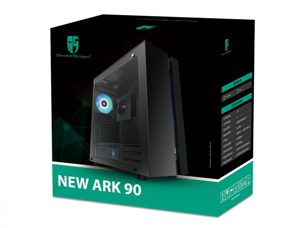 NEW ARK 90 E-ATX Case Introduced by Deepcool