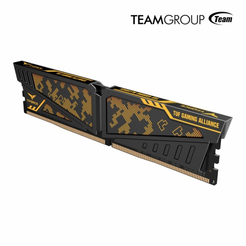 TeamGroup Announces T-Force Vulcan DDR4 RAM with ASUS TUF Gaming Alliance Certification