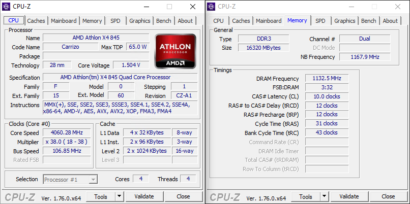AMD Athlon X4 845 CPU Review » Page 2 - AMD Athlon X4 845: Specifications & Features - Overclockers Club
