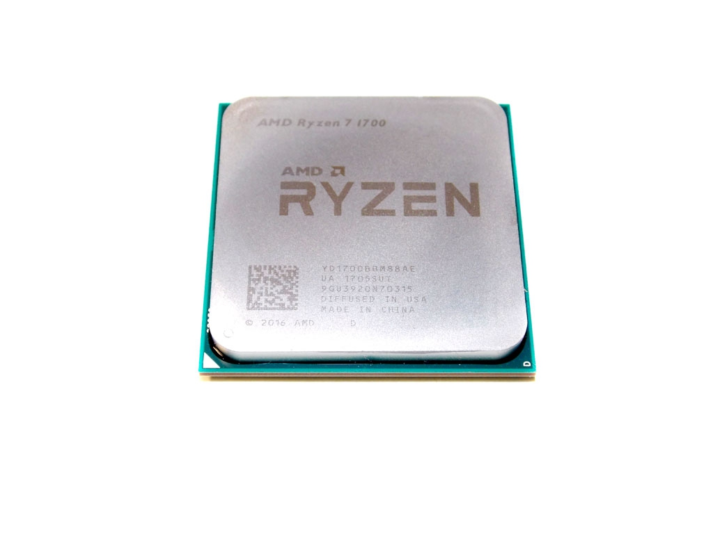 AMD Ryzen 7 1800X, 1700X, and 1700 Processor Testing: Setup