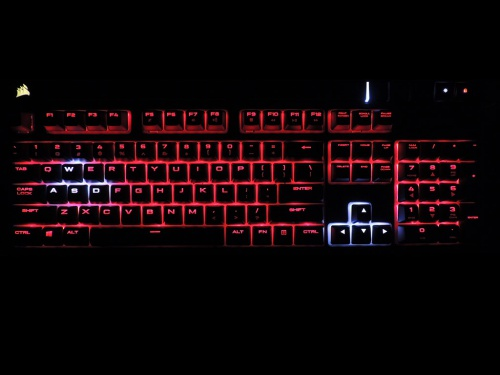 Corsair Strafe RGB Mechanical Keyboard Review » Page 3 - Corsair