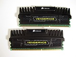 Corsair Vengeance 8gb (2X4 GB) PC3-12800 Cas9 Review