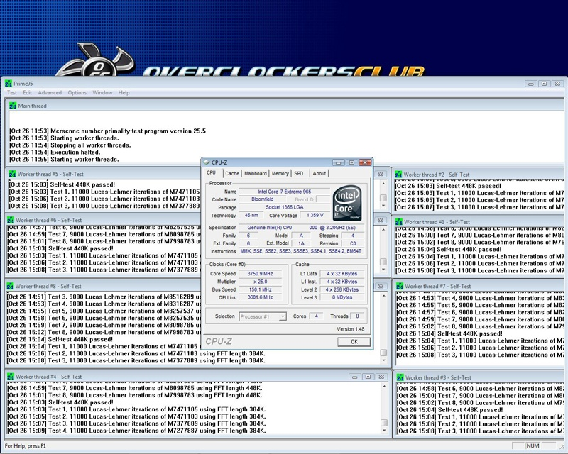 Intel Core I7 Review » Page 4 - Testing: Setup, Overclocking