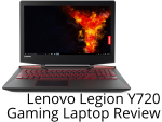 Lenovo Legion Y720 Laptop Review