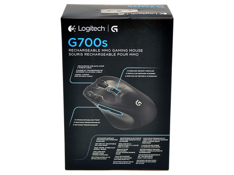 0323de7f492 Logitech G700s Rechargeable Gaming Mouse Review - Overclockers Club