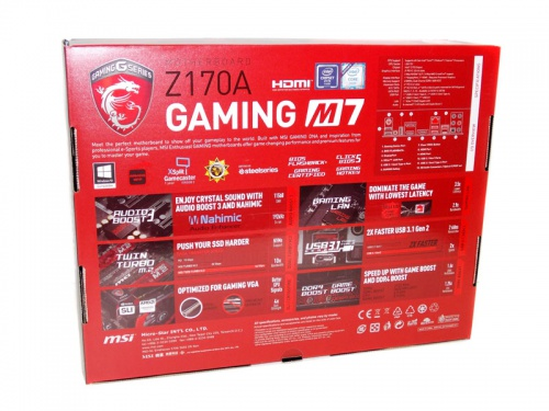 MSI Z170A Gaming M7 Review - Overclockers Club