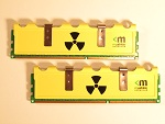 Mushkin Radioactive 996958 PC3 12800 2X2GB Memory Review