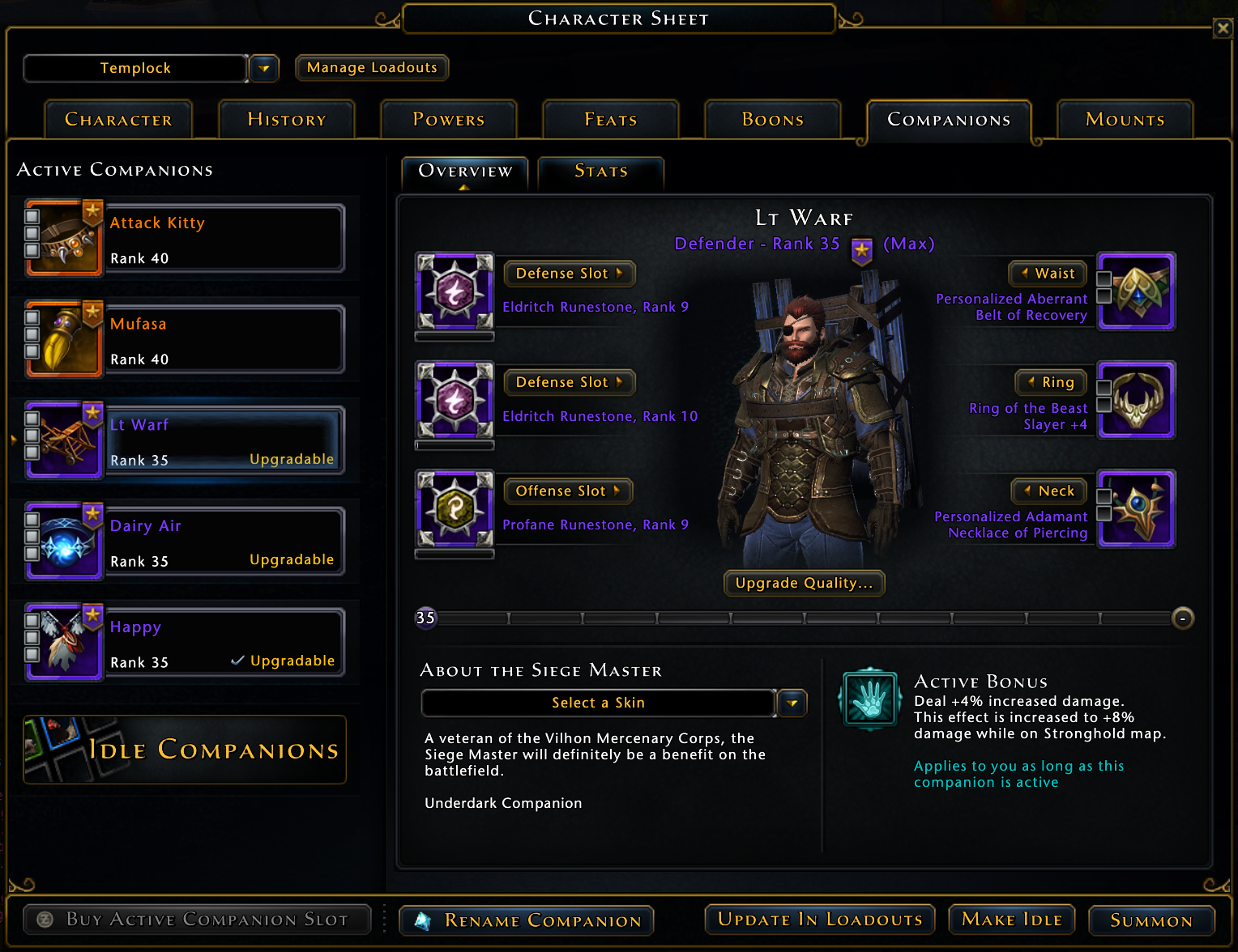 Neverwinter Dps Companions Guide Overclockers Club