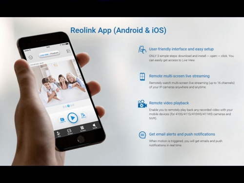 Reolink Argus 2 Wireless Battery-Powered Security Camera