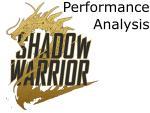 Shadow Warrior 2 Performance Analysis