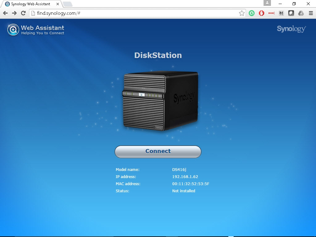Synology DiskStation DS416j NAS: Specifications & Features