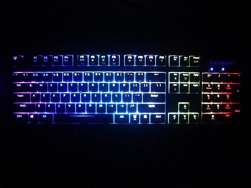 c2494792905 Tesoro Excalibur Spectrum RGB Mechanical Keyboard Review - Overclockers Club