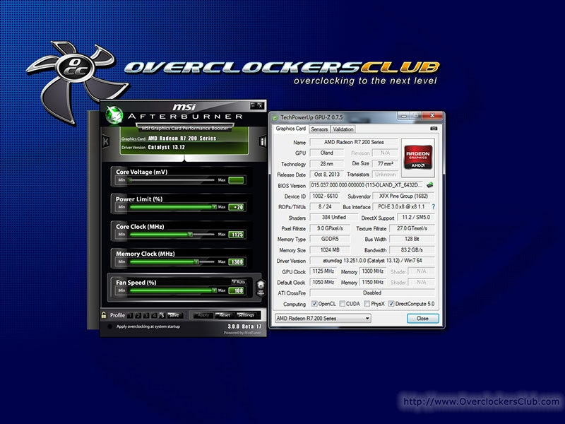 XFX R7 250 Review - Overclockers Club