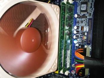 Side Fan case Noctua 14cm