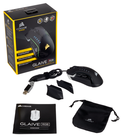 GLAIVE RGB Mouse Released by Corsair