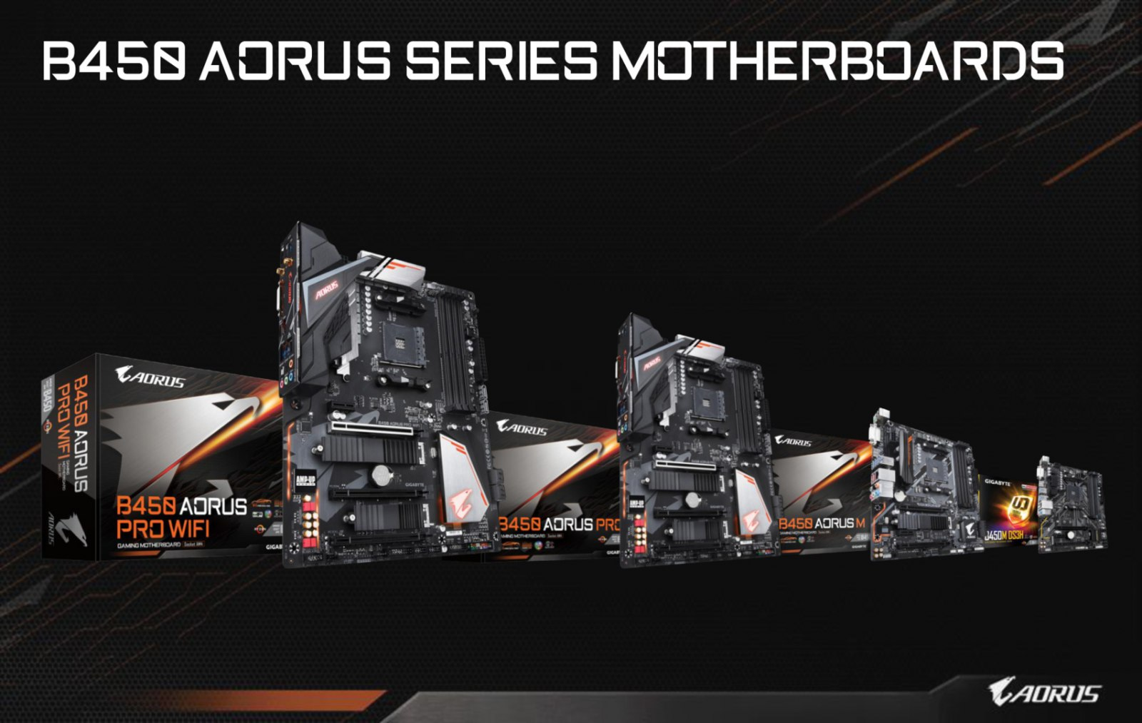 Gigabyte Reveals B450 Motherboard Specifications - Industry