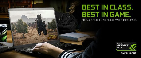 NVIDIA Launches Back to School GeForce GTX Laptops