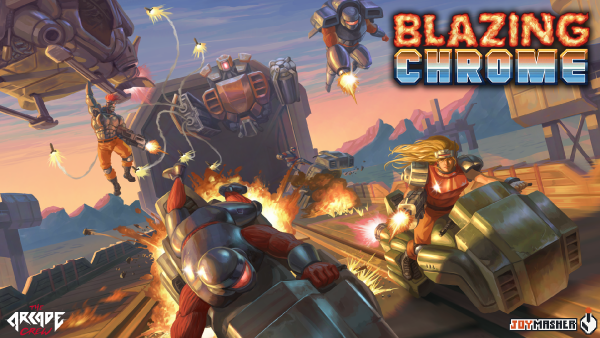 Blazing Chrome Releasing in Early 2019