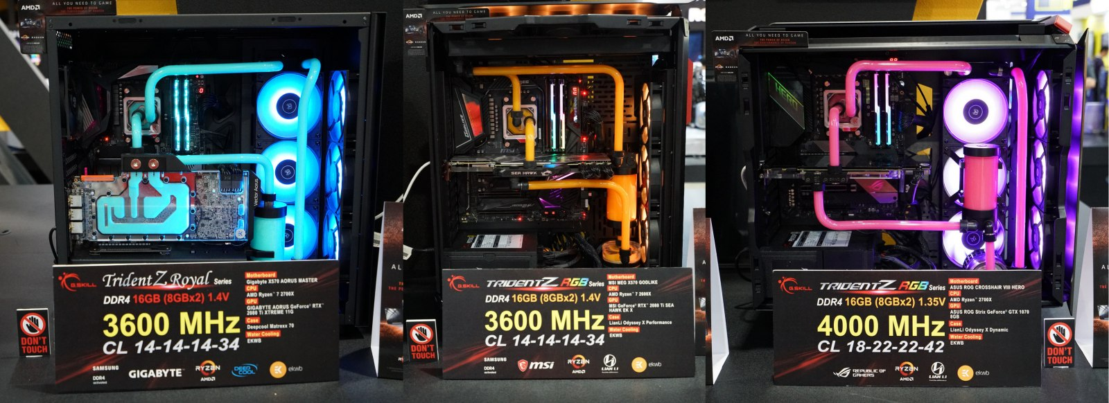 G Skill Computex Live Demos Include Massive Capacity and