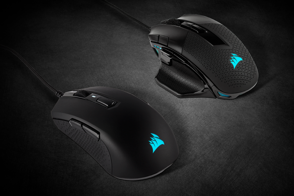 Nightsword RGB and M55 RGB Pro Gaming Mice Launched by Corsair